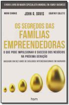 Segredos das Familias Empreendedoras, Os - Hsm editora -