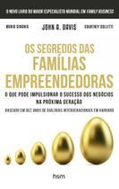 Segredos Das Familias Empreendedoras, Os - Hsm - Hsm editora s/a. -