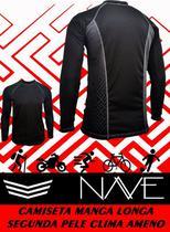 Segunda pele camiseta manga longa - Nave