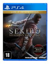 Sekiro Shadow Die Twice Goty Edition PS4 - Activision