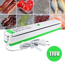 Seladora a Vacuo Eletrica Termica Alimentos 110V Embaladora Produtos - Braslu