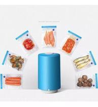 Seladora A Vácuo Portátil Embaladora Alimentos Embaladora Manual 6 Sacos -