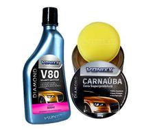 Selante Para Pintura V80 Cera Carnauba Com Aplicador Vonixx -