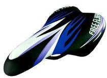 Selim DDK 1217A JR - BMX / Freestyle infantil - Preto e Azul -