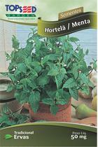 Semente Hortela / Menta Topseed C014 -10 Pacotes - Praxedes