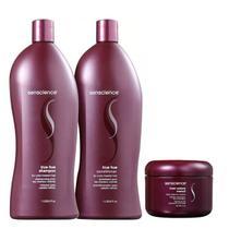 Senscience True Hue Shampoo+Condicionador 1L+Mascara Iner Restore Intensif 150ml -