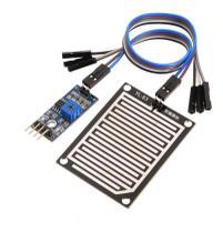 Sensor De Chuva E Gotas Pingos Agua + Cabos Para Arduino - Mj