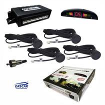 Sensor de Estacionamento Display Digital com 4 sensores DNI 8703 - Diversas