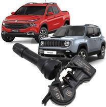 Sensor de Pressao do Pneu TPMS Jeep Compass Renegade Toro - 53386476 - Original