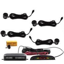Sensor De Re Estacionamento Ré 4 Sensores Display Sonoro - Haiz Shop