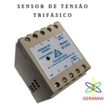 Sensor de Tensão ST-2TC de quadro de transferência de geradores ou sensor Falta de rede - Geratronic