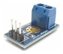 Sensor De Tensão ( Voltagem ) 0 - 25 Vdc Arduino Pic Luz - Mj