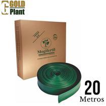 Separador limitador divisor de grama 20 mts com borda - MOGIFERTIL