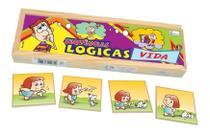 Sequencia Logica Da Vida Educativo Pedagogico Jogo Madeira Simque -