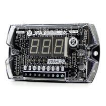 Sequenciador Voltímetro Automotivo Medidor de Bateria Digital JFA VS5 HI -