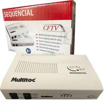 Sequencial De Câmeras Para Cftv Multitoc 4x2 -