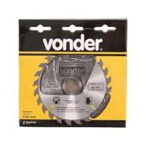 Serra Circular 110mm P/Mad.24 Dentes 4675110224 Vonder