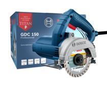 Serra Mármore Bosch GDC 150 TITAN 1500W 220V Profissional -