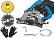 Serra Marmore Gamma 127V - 1240W - Com kit de Acessórios -