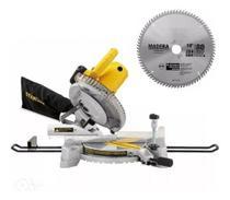 Serra meia esquadria 10pol 250mm 1650w c/ disco e led sm16 stanley - Stanley - Power Tools