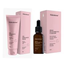 Serum multicorretivo facial 30ml e gel esfoliante facial hidrabene 100g. - Dauher