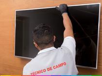 """Serviço Especializado de Instalação de TV 43"""" a 70"""" + Suporte Fixo - Cdf"""