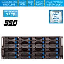 Servidor-Storage Silix X1200H24 V6 Intel Xeon V6 3.5 Ghz / 8GB DDR4 / SSD / 72TB / RAID / Hot-Swap -