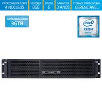 Servidor-Storage Silix X1200R V6 Intel Xeon E3 V6 3.0 Ghz / 8GB / 36TB / RAID / USB 3.0 / Rack 2U -