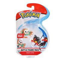 Set c/ 2 Bonecos - Rattata de Alola vs Sandygast  - Pokémon - WCT -