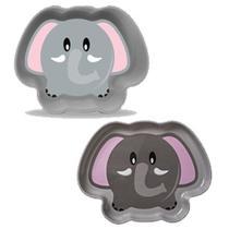 Set de Pratos Zoo Elefante - Girotondo Baby -