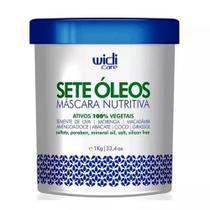 Sete Óleos Máscara Nutritiva 1kg Widi Care - Original -