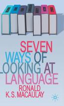 Seven Ways of Looking at Language - Springer Nature