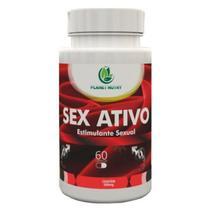 Sex Ativo 500mg - Estimulante Sexual - 60 Cápsulas Planet nutry