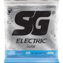 SG - Encordoamento Para Guitarra Medium IZ5160 -