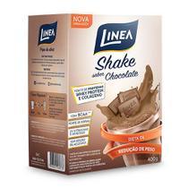 Shake Chocolate com Whey e Colágeno Sem Açúcar 400g - Linea