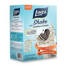 Shake Cookiesn Cream com Whey e Colágeno Sem Açúcar 400g - Linea