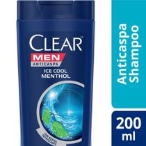 Shampo Clear Ice Cool Menthol Anticaspa 200ml -