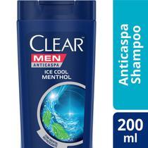 Shampo Clear Ice Cool Menthol Anticaspa 200ml -