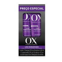 Shampoo 200ml + Condicionador Ox Liso 170ml -