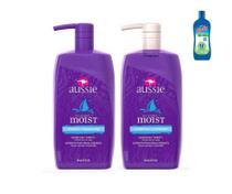 Shampoo 865 ml + Condicionador 865 ml Aussie Moist -
