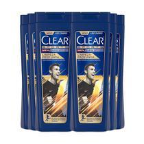 Shampoo Anticaspa Clear Limpeza Profunda 400Ml - 6Un -