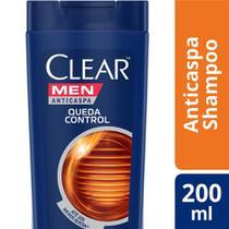 Shampoo Anticaspa Clear Men Queda Control 200ml -