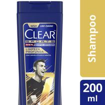 Shampoo Anticaspa Clear Men - Sports Limpeza Profunda 200ml
