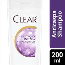 Shampoo Anticaspa Clear Women Hidratação Intensa 200ml -