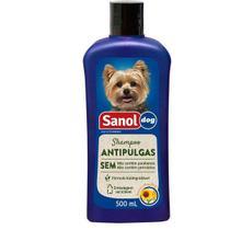 Shampoo Antipulgas Sanol Dog 500 ml -