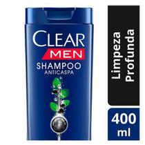 Shampoo Clear Men Limpeza Profunda 400ml -