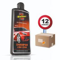 Shampoo com Cera de Carnaúba 500ml Caixa 12und Braclean -