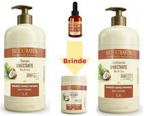 Shampoo Condicionador 1L +Óleo De Coco Bio Extratus E Brinde -