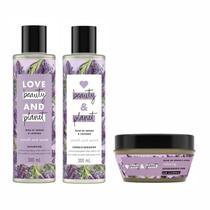 Shampoo Condicionador Desodorante Love Beauty Planet Smooth - Love Beauty And Planet