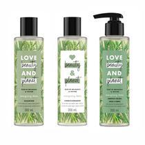 Shampoo Condicionador e Sabonete Love Beauty  Planet Detox - Love Beauty And Planet